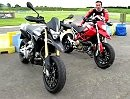 Aprilia Dorsoduro Supermoto group test