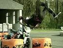 Rok Bagoros - KTM 690 Stunt Duke - die ersten Veruche mit dem neuen Motorrad