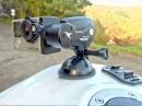 Rollei eGimbal als Gyrocam. Test der Steadycam mit Suzuki GSR 750