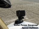 Power Saugnapf Actioncams - Speed Hafttest, hält bombig ohne Vibrationen