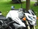 Rollei S50 WiFi - Gaskrank testet Vorserienmodell mit Suzuki GSR 750 ABS
