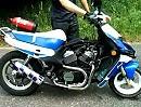 Roller Eigenbau Suzuki vt 500 - sehr innovativ. Vmax? Zu feige dafür...