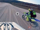 Rossi vs. Halbert / MotoGP vs. Flat Track - Battle auf Rossis Ranch