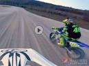 Rossi vs. Halbert / MotoGP vs. Flat Track - Battle auf Rossis Ranch