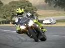 Rossi zeigt die Linie - so fährt der Weltmeister!!!