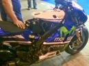Valentino Rossis M1 Warmup Paddock Brünn Gänsehaut inklusive.....
