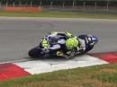 Ruhig, gelassen, schnell: SO fährt der Großmeister Rossi ums Eck!
