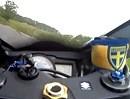 Rund um Plön auf Suzuki GSXR750 (34PS)