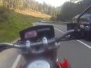 Rushhour Johanniskreuz mit Honda FMX 650