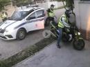 Russische Polizeikontrolle mit blitzartigem Ende ;-)