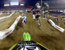 Ryan Villopoto Startrunde 2013 Monster Energy Supercross in Anaheim, Kalifornien