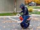 Ryno Einrad Elektro Motorrad - ein Alternative?