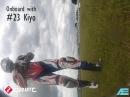 Ryuichi Kiyonari onboard Snetterton mit finalem Lowsider