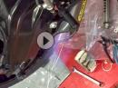 BMW S1000RR Arrow Titananlage Umbau für Renne