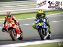 Saisonrückblick 2014: MotoGP, Moto2 und Moto3 auf Dppel-DVD