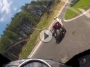 Salzburgring onboard (one Lap) Yamaha R6 vs 195hp by Nino Pallavicini