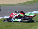 Sam Lowes Show: Donington (England) Supersport-WM (SSP)