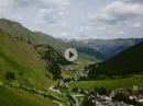 Samnaun, Graubünden, Schweiz mit BMW R1200 GS - Alpen 2017