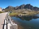 San Bernardino Pass - von San Bernardino auf die Passhöhe mit BMW R1250GS