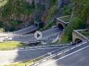 San Boldo Pass (Passo San Boldo) straßenbauliches Meisterwerk