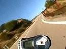 Sardinien 2008 zwishen Siniscola und Bitti mit Triumph Speed Triple