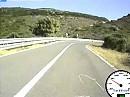 Motorradurlaub Sardinien 2010 - SS 292 Alghero - Pedru Sassu