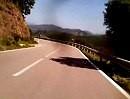 Sardinien mit Triumph Street Triple 675 in den Bergen des Gennargentugebierges