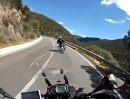 Sardinien - Paarlauf auf der SS125 von Gruxi Lillius nach Villaggio San Priamo
