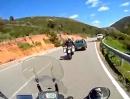 Sardinien über die SS387 und SP13 im Gennargentu-Gebirge XT1200-Paarlauf