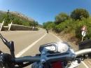 Sardinien: Zügig auf der SP125 Paradies: Grip und Kurven!!!