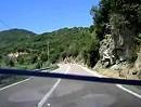 Sardinien SS198 von Tortoli Richtung Lanusei