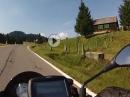 Satteleggpass (Schweiz) mit Aprilia Tuono V4 1100 RR