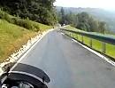 Sattelpass / Ibergereggpass Motorradtour mit Kawasaki 1400GTR