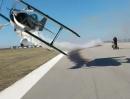 Arschknapp - Flugzeug mit 200km/h beim Quad filmen extremer Vorbeiflug