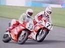 SBK 1991 - Donington (England) Race1 Zusammenfassung