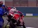 SBK 1992 Donington (England) Race 1 - Recap