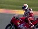 SBK 1992 Mugello (Italien) Race 2 Zusammenfassung
