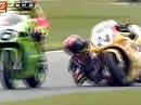 SBK 1996 - Donington (England) Race 1 - Corser schlägt zurück.