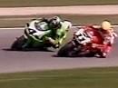 SBK 1996 - Misano (Italien) Rennen 2 - sensationelle zweite Rennhälfte: Gobert vs. Kocinski