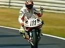 SBK 1999 - Aaron Slight angepisst in Hockenheim - Interview und Rennszenen