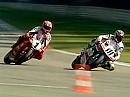 SBK 1999 - Hockenheim (Deutschland) Race 1 - Foggy Sieger nach Konfusion und vorzeitg Weltmeister.