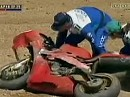 SBK 1999 Kyalami Action Clips