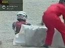 SBK 1999 Monza Italien, Race 1 - Red Adair Foggy fuhr wie die Feuerwehr