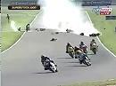 SBK 2006 Horror Crash beim Superstock 1000 Rennen auf dem Lausitzring ...