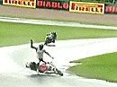 SBK-2008 Donington Park (England) - Superbike WM Race 2 - Best Lap, Highlights, Interviews