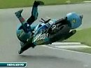 SBK 2008 - Donington Park (England) - Superpole Highlights / Interviews