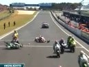 SBK 2008 - Phillip Island (Australien) - Highlights Race 1