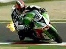 SBK 2009 Imola Italien - Race 1 - Highlights und Interviews