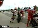 SBK 2009 Misano (Italien) - Race 1 Highlights und Interviews