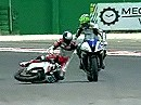 SBK 2009 Misano (Italien) - Superstock 600 Race und Highlights